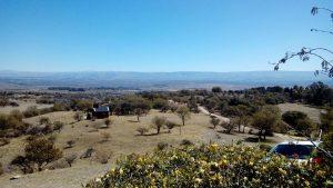 Rancho Pampa - Vista desde el Yequi